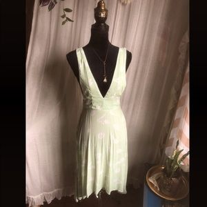 Mint Tulip Apron Dress